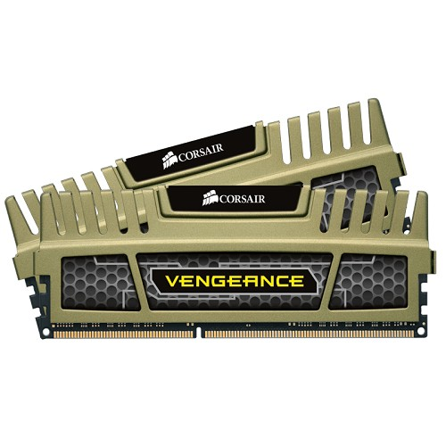 CORSAIR Memory PC 2 x 8GB DDR3 PC-12800 [Vengeance CMZ16GX3M2A1600C9G] - Memory Desktop Ddr3
